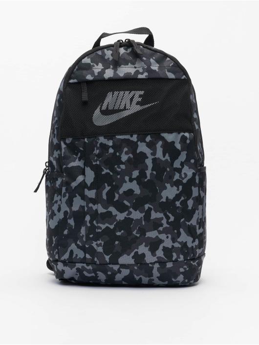 Nike Plecaki Elemental 2.0 AOP czarny