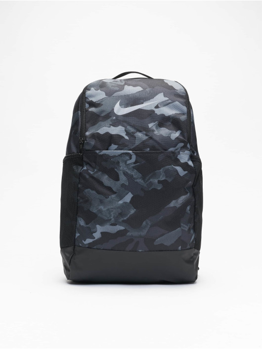 Nike Plecaki Brasilia M 9.0 AOP 2 szary