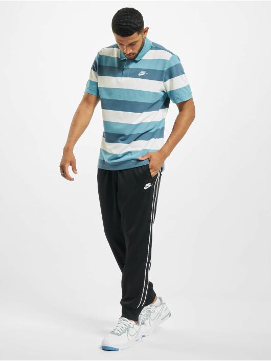 Nike Poloshirt Matchup Stripe Polo blau