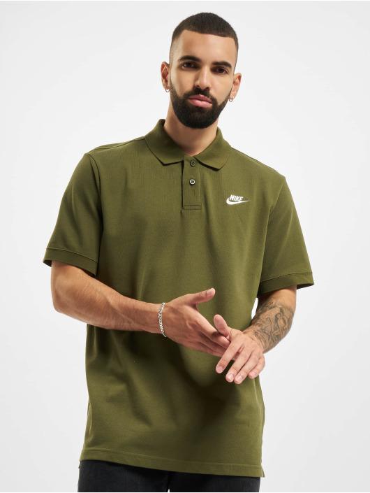 Nike Poloshirt Matchup Polo green