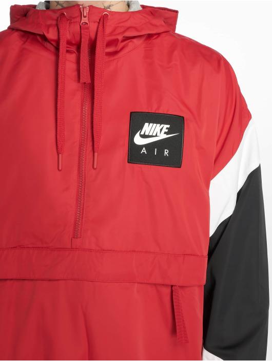 Nike Prechodné vetrovky Air èervená
