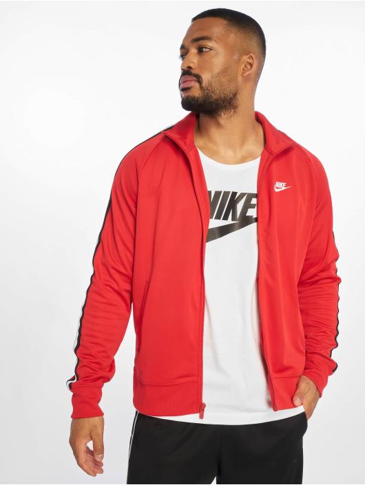 Nike Prechodné vetrovky HE PK N98 Tribute Jacket University èervená