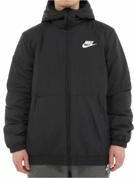 Nike Prechodné vetrovky Air èierna