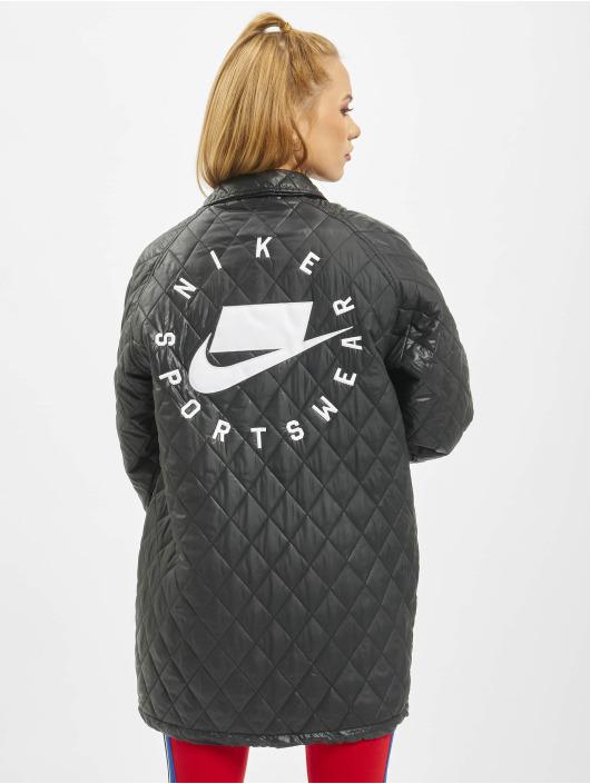 Nike Prechodné vetrovky Quilted èierna
