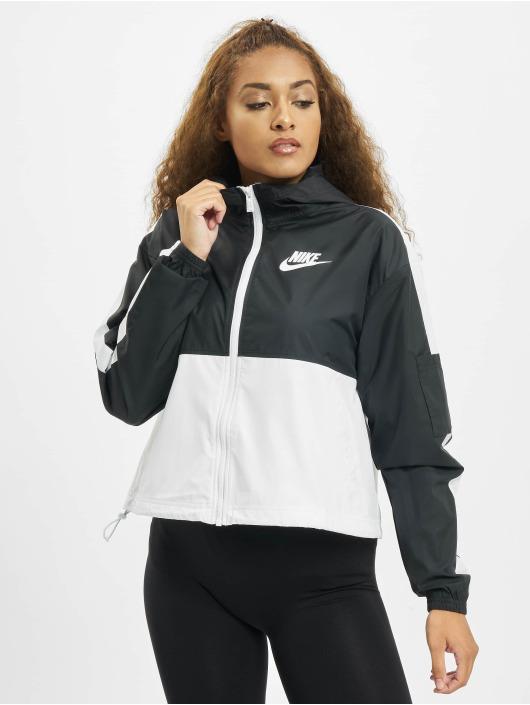 Nike Prechodné vetrovky Woven èierna