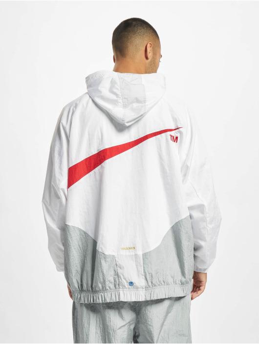 Nike Prechodné vetrovky Swoosh biela