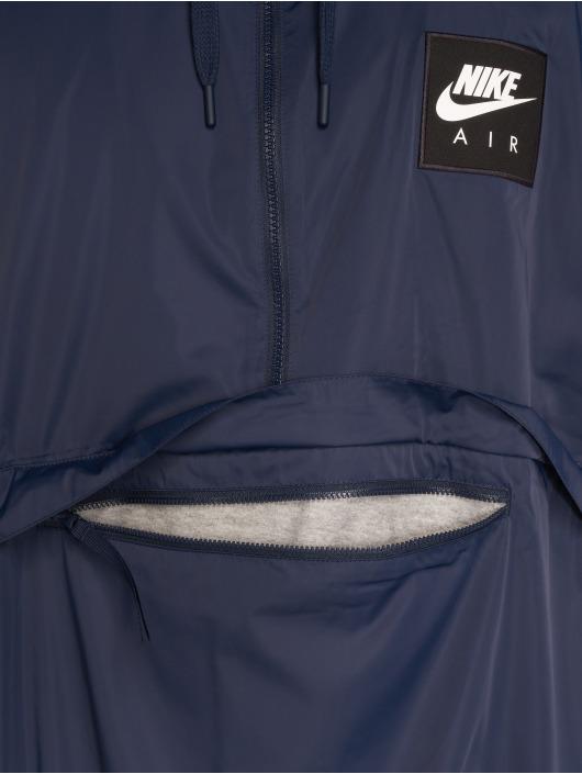Nike Prechodné vetrovky Woven Air modrá