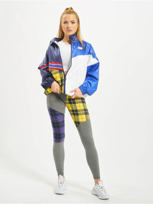 Nike Prechodné vetrovky Woven modrá