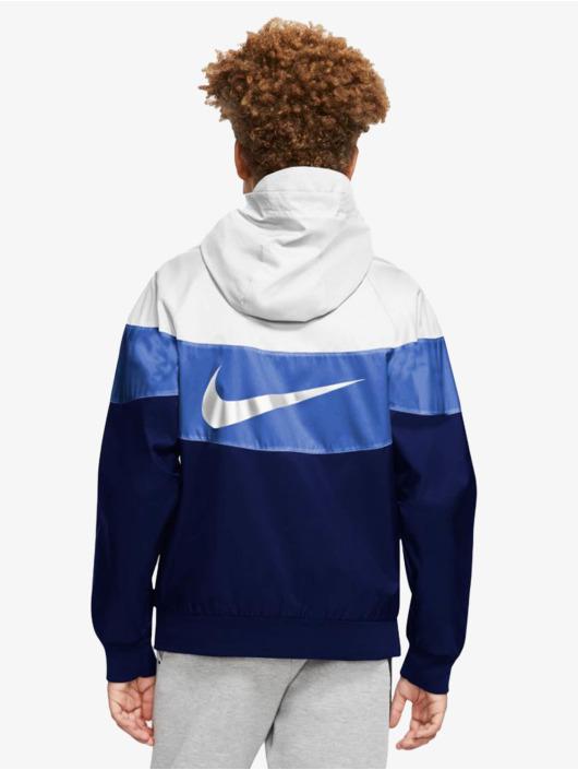 Nike Prechodné vetrovky Transition modrá