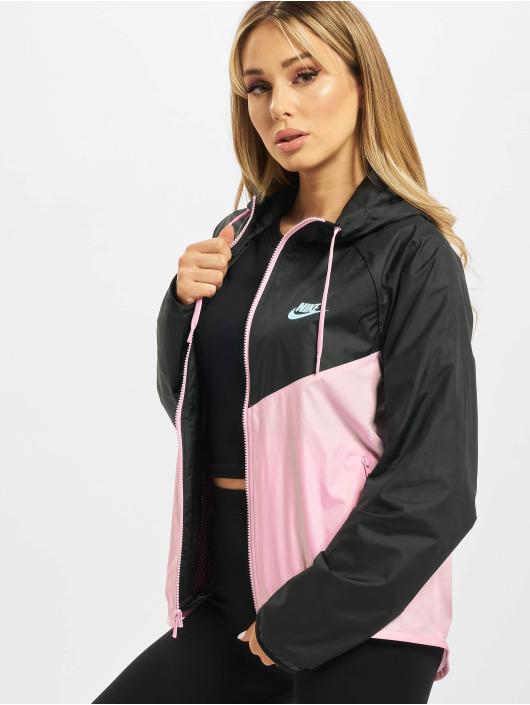 Nike Prechodné vetrovky Windrunner Transition pink