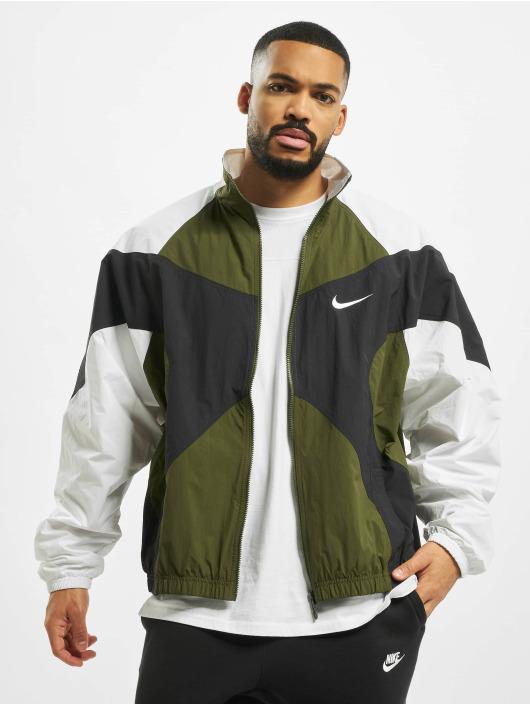Nike Prechodné vetrovky Re-Issue Woven zelená