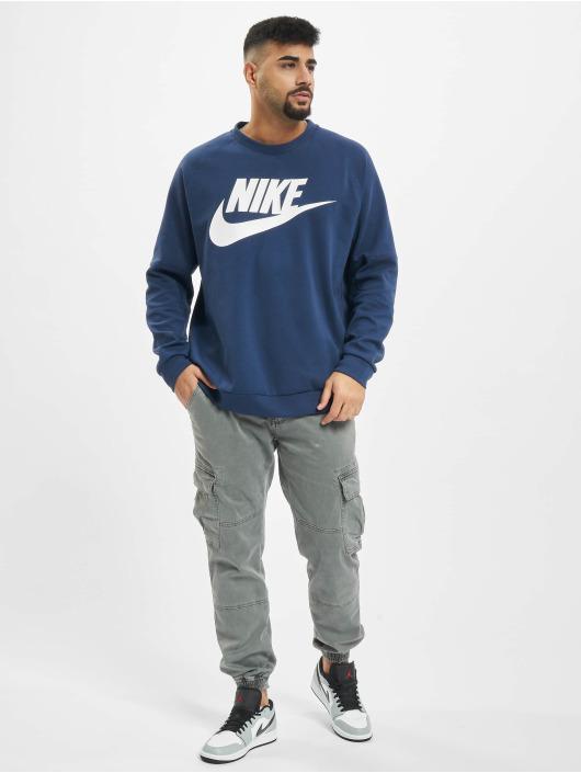 Nike Pullover Modern Crew Fleece HBR blau