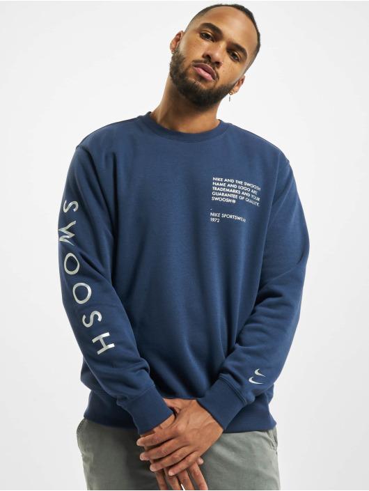 Nike Pullover Swoosh Crew blau