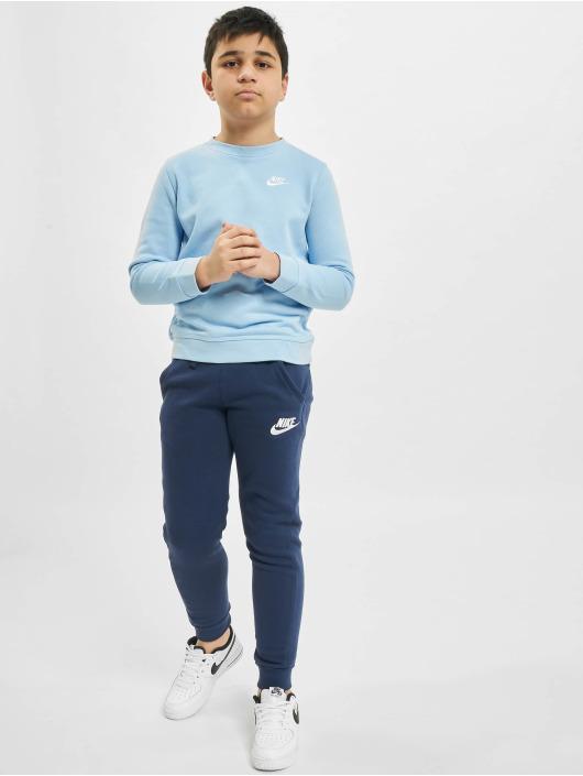 Nike Pullover Crew Club FT LBR blau