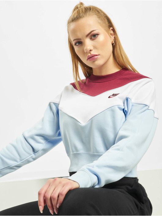 Nike Pullover Heritage Crew SB blue