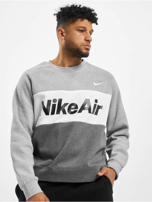 Nike Pullover Air Crew Fleece grau