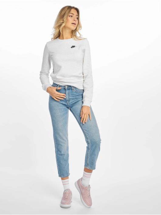 Nike Pullover Club Crew Fleece gray