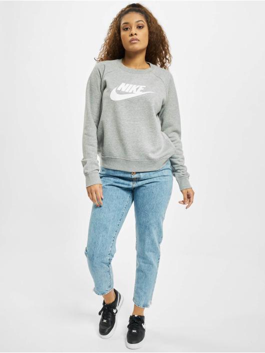 Nike Pullover Essential Crew Fleece HBR gray