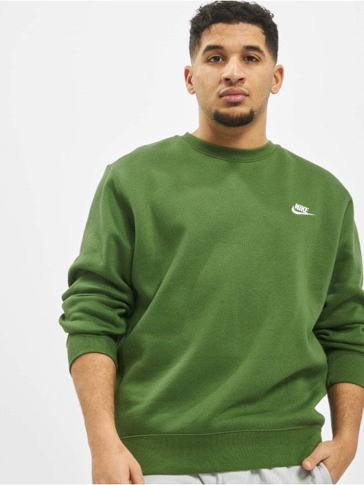 Nike Pullover Club Crew BB grün