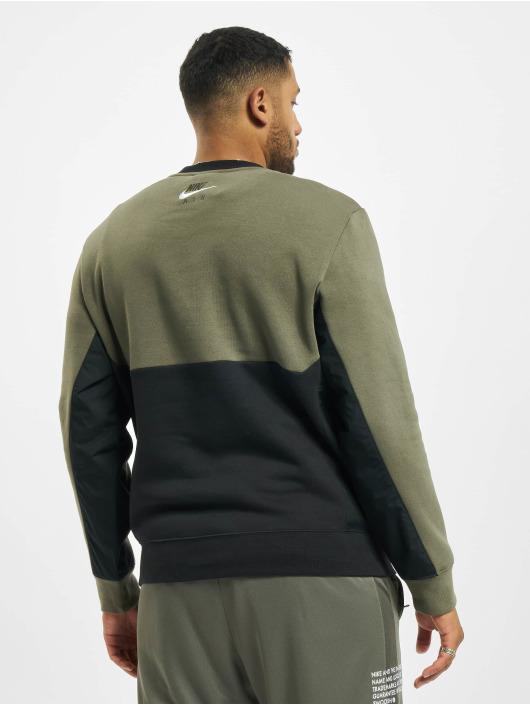 Nike Pullover Air Crew Fleece grün