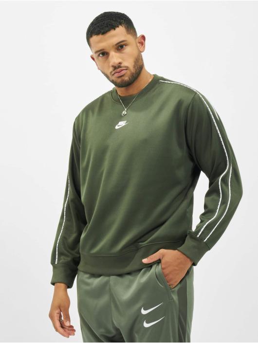 Nike Pullover Repeat PK Crew khaki