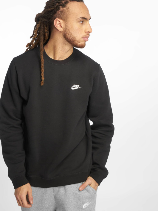 Nike 258314 Schwarz Nsw In Pullover Club Fleece Herren 4w7qPx4v