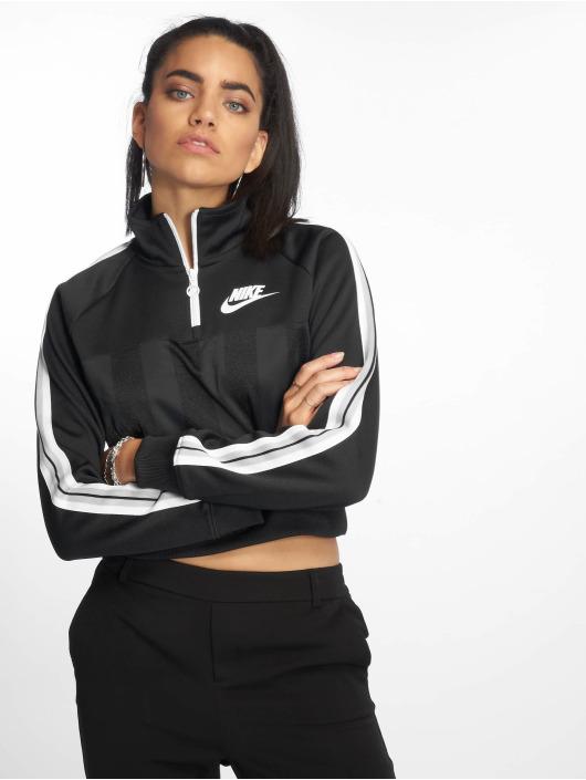 955b0eba18d796 Nike Damen Pullover Sportswear Half Zip in schwarz 581361