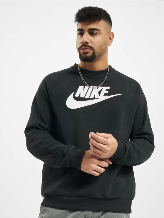 Nike Pullover Modern Crew Fleece HBR schwarz