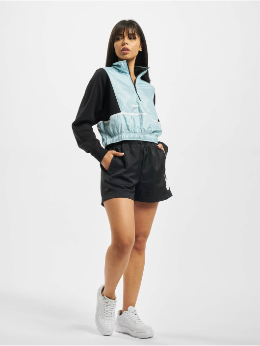 Nike Pullover QZ Archive Remix schwarz