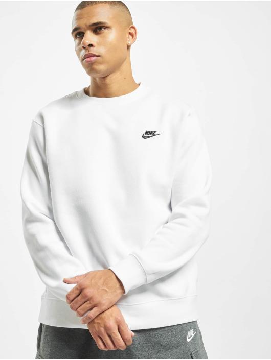 Nike Pullover Club Crew BB weiß