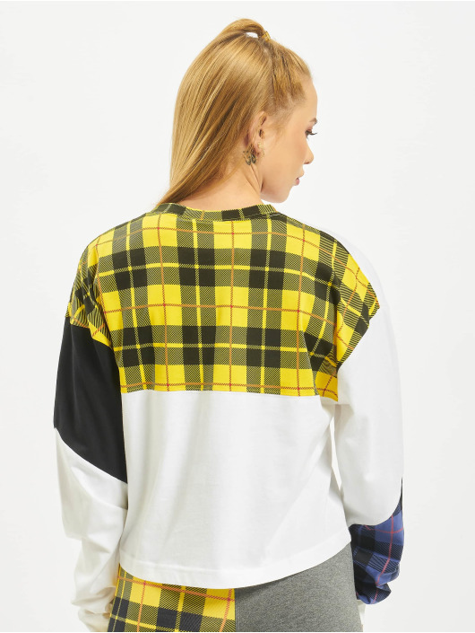 Nike Pullover Plaid white