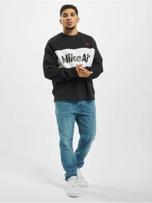 Nike Pulóvre Air Crew Fleece èierna