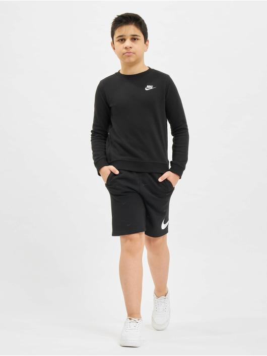 Nike Pulóvre Crew Club FT LBR èierna