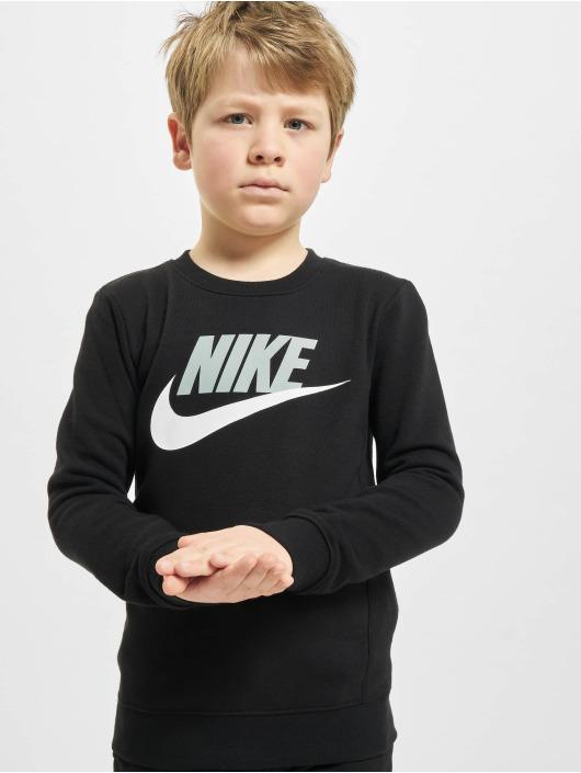 Nike Pulóvre Nkb Club Hbr Crew èierna