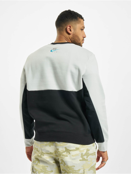 Nike Pulóvre Air Crew Fleece šedá