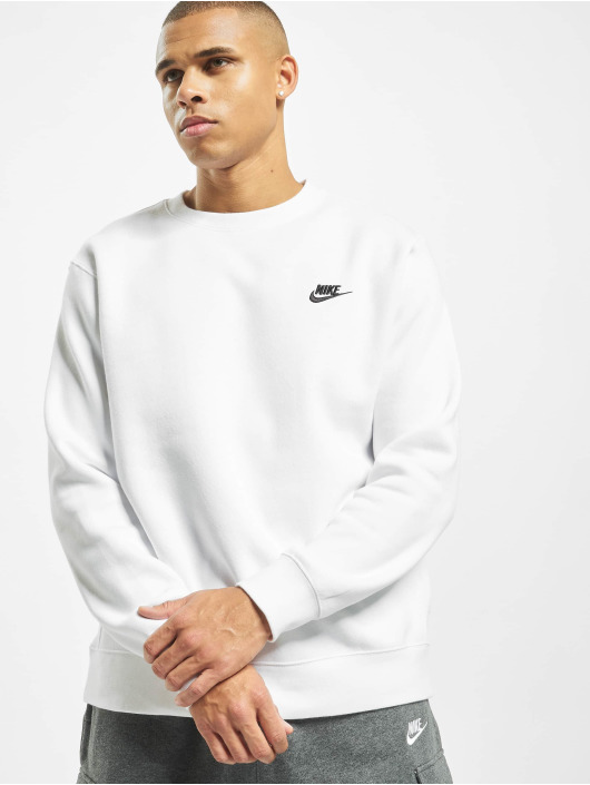 Nike Pulóvre Club Crew BB biela
