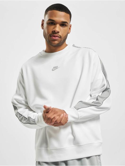 Nike Pulóvre M Nsw Repeat Pk Crew biela