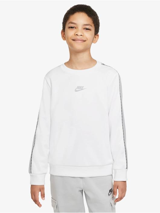 Nike Pulóvre Repeat PK biela