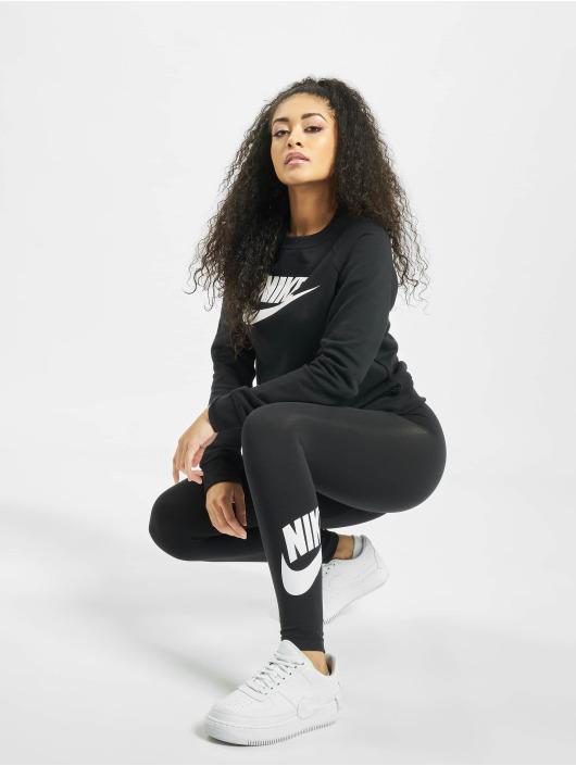 Nike Puserot Essential Crew Fleece HBR musta
