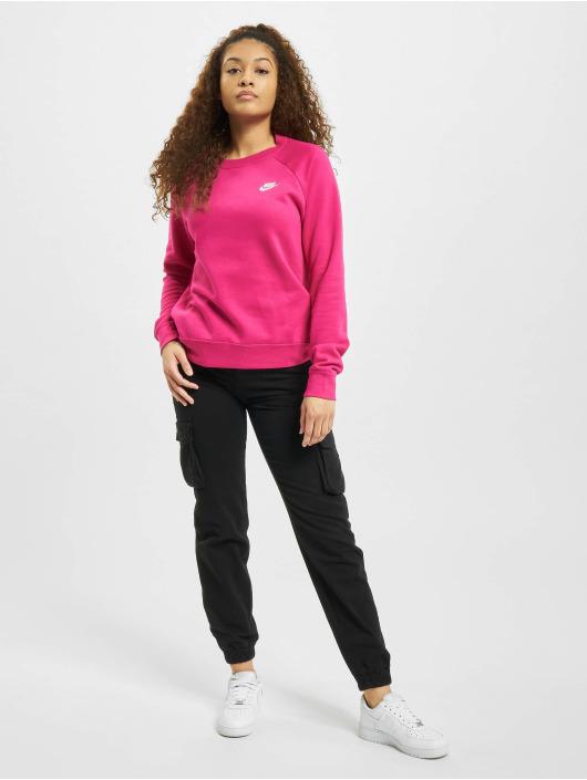 Nike Puserot W Nsw Essntl Flc vaaleanpunainen