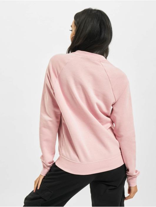 Nike Puserot W Nsw Essntl Flc Crew vaaleanpunainen