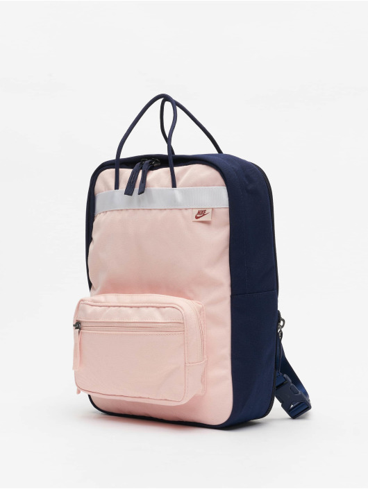 Nike Tanjun Premium Backpack Blackened BlueEcho PinkUniversity Red
