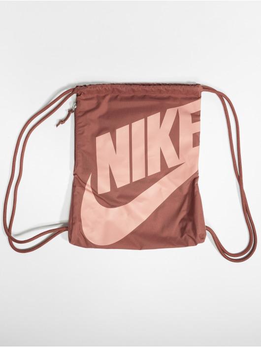 Nike Sac à cordons Heritage rouge