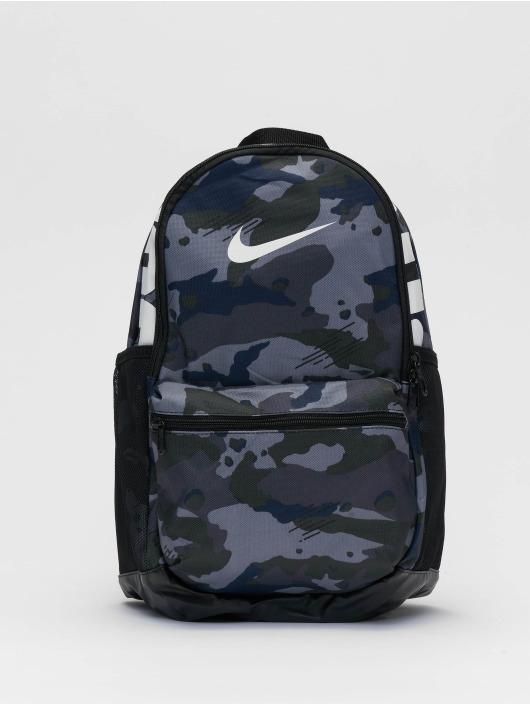 Nike Sac à Dos Brasilia M AOP gris