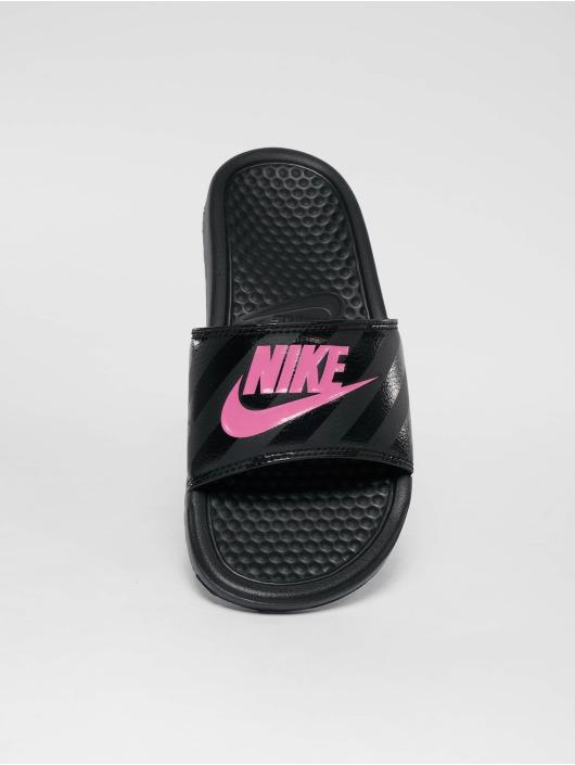 Nike Sandalen Benassi Just Do It schwarz