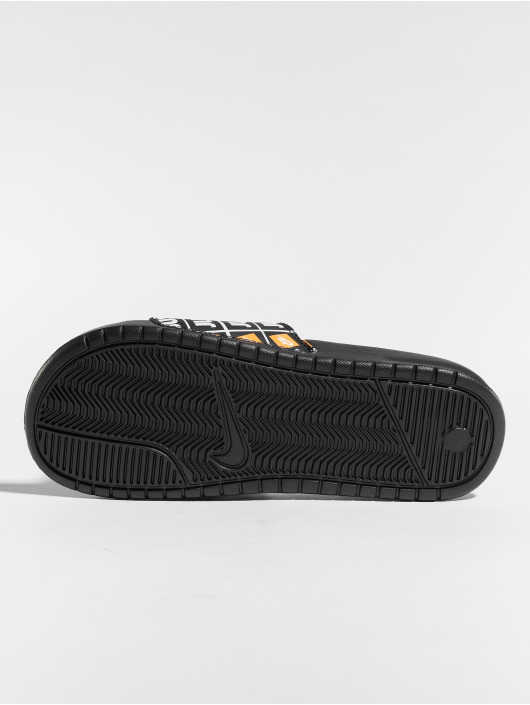 "Nike Sandalen ""just Do It."" schwarz"