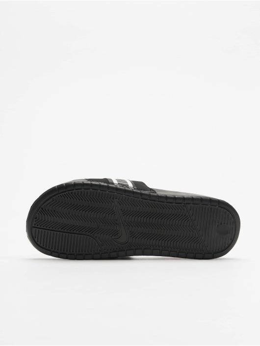 Nike Sandalen Benassi schwarz