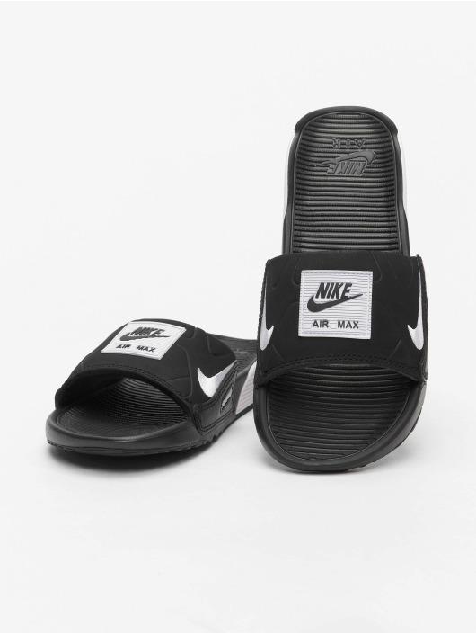 Nike Sandalen Air Max 90 Slides schwarz