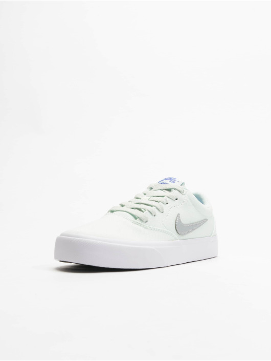 Nike SB Сникеры Charge Canvas зеленый