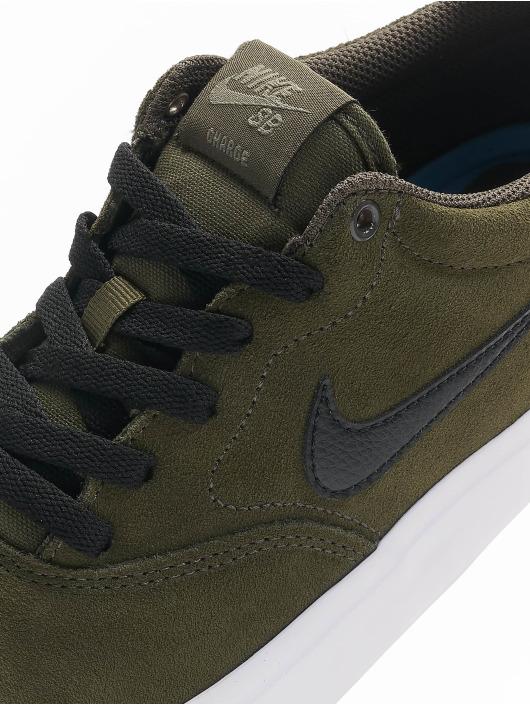 Nike SB Сникеры SB Charge Suede хаки